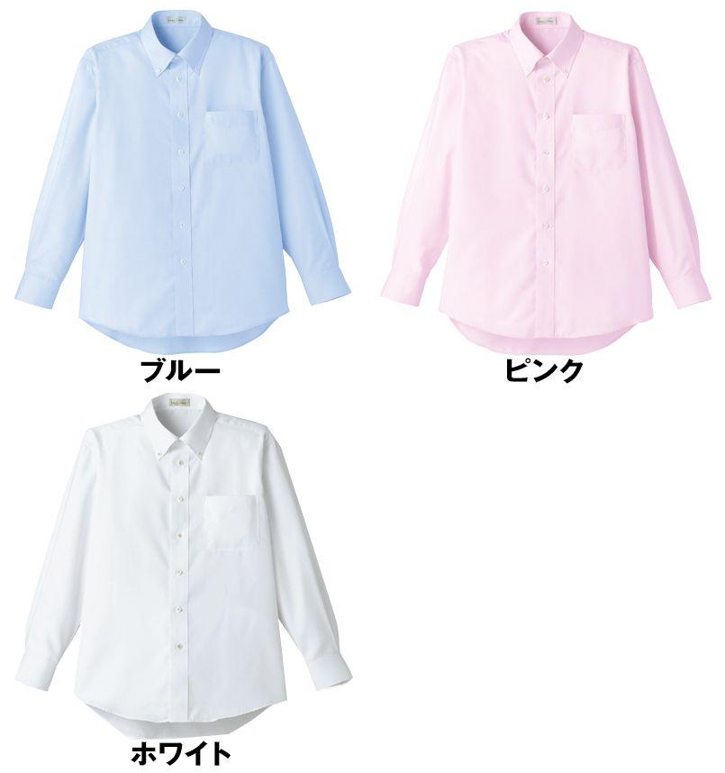 FB5015M FACEMIX 吸汗速乾シャツ/長袖(男性用)ボタンダウン 色展開