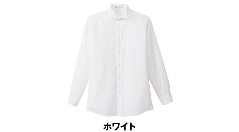 FB5032M FACEMIX ウイングカラーシャツ/長袖(男性用) 色展開