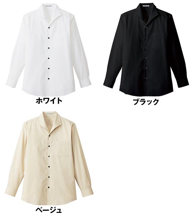 FB5033M FACEMIX イタリアンカラーシャツ/長袖(男性用) 色展開