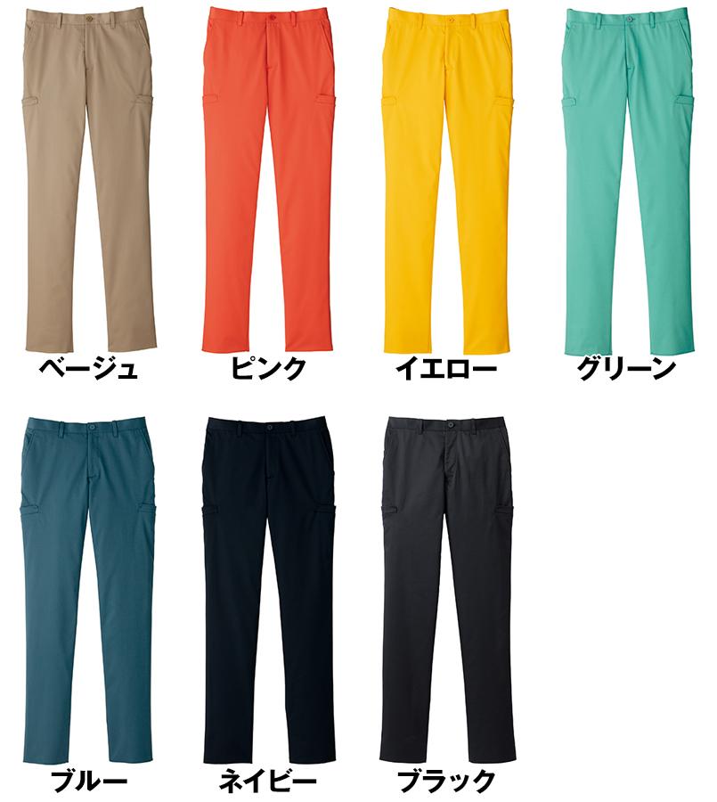 FP6005M FACEMIX ストレッチカラーチノパン/股下フリー(男性用) 色展開