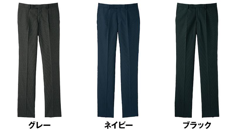 FP6016M FACEMIX/GRAND(グラン) ストレッチパンツ(男性用) レギュラー/ストライプ 色展開