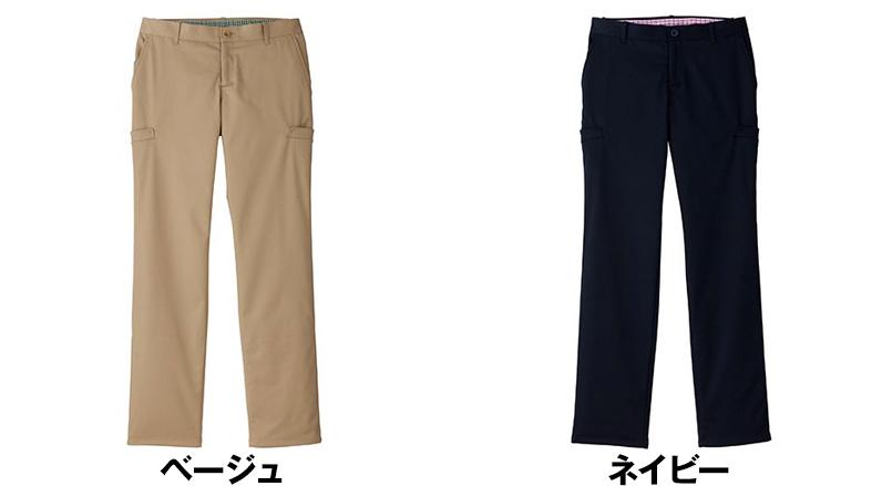 [在庫限り]FP6307L FACEMIX ロールアップストレッチパンツ(女性用) 色展開