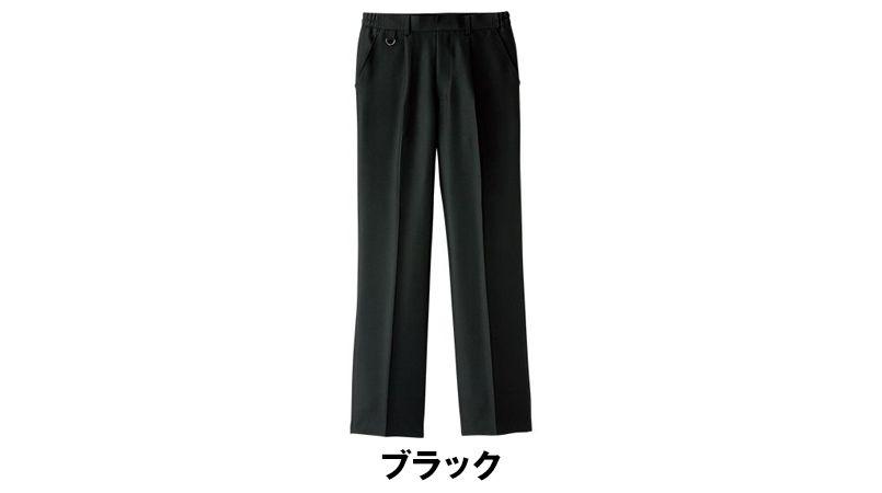 FP6701U FACEMIX ワンタック脇ゴムパンツ/股下フリー(男女兼用) 色展開