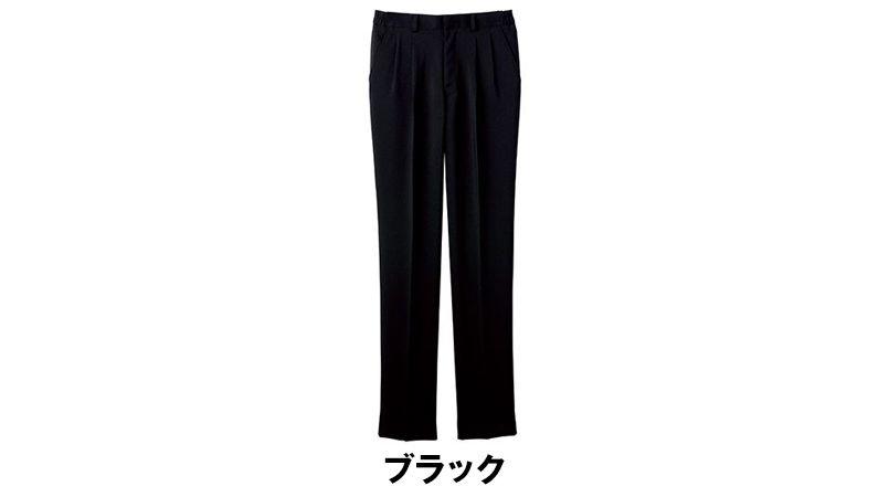 FP6705U FACEMIX 脇ゴムツータックパンツ(男女兼用) 色展開