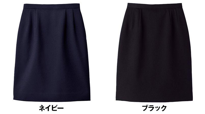 FS2000L FACEMIX/PAMIO(パミオ) セミタイトスカート(女性用) 無地 色展開