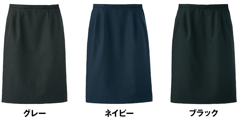 FS2005L FACEMIX/GRAND(グラン) ストレッチスカート(女性用) ストライプ 色展開