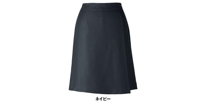 BONMAX LC3705 [春夏用]キュロット 無地 ケイティー エクロール 巻きスカート風 色展開