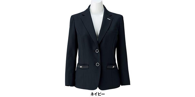 BONMAX LJ0763 [春夏用]イルマーレ 七分袖テーラードジャケット 無地 色展開