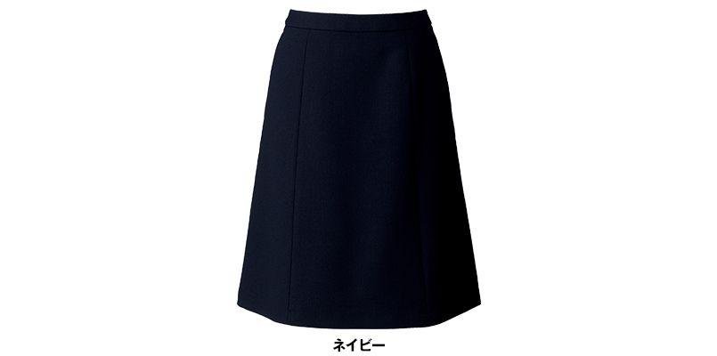 [在庫限り/返品交換不可]BONMAX LS2195 [通年]カルム Aラインスカート 無地 色展開