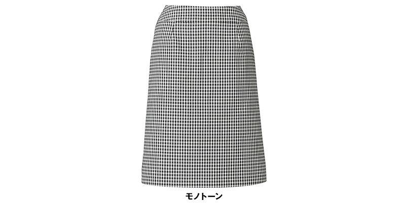 BONMAX LS2743 [春夏用]アミティエ Aラインスカート チェック 色展開