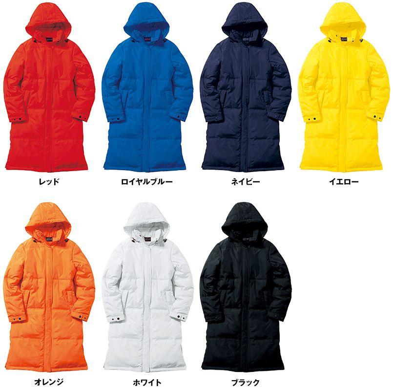 MJ0066 LIFEMAX ダウン風 ベンチコート(男女兼用) 色展開