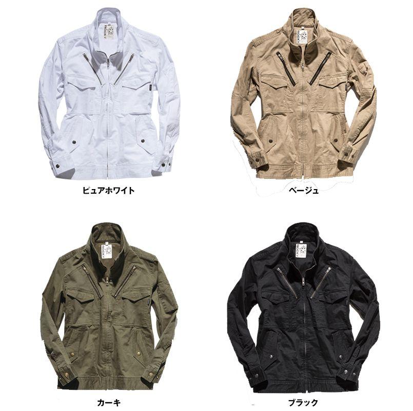 ROCKY RJ0905 ツイルフライトジャケット(男女兼用) 色展開