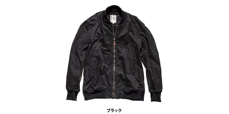 ROCKY RJ0908 ツイルMA-1ミリタリージャケット(男女兼用) 色展開