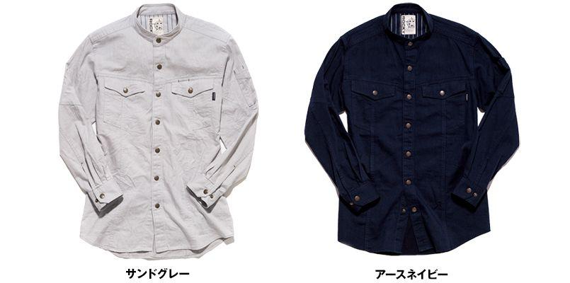 RS4301 ROCKY スタンドカラーシャツ(女性用) 色展開