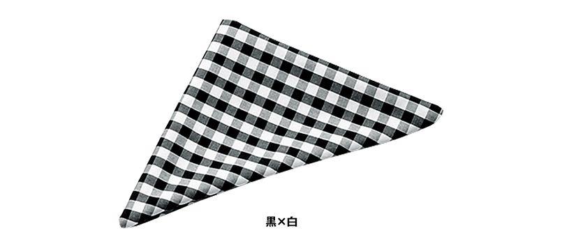 04007 BONUNI(ボストン商会) 三角チーフ(男女兼用) 先染チェック 色展開