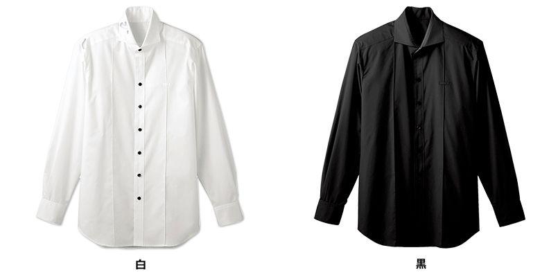24115 BONUNI(ボストン商会) ホリゾンタルカラーシャツ/長袖(男性用) 色展開