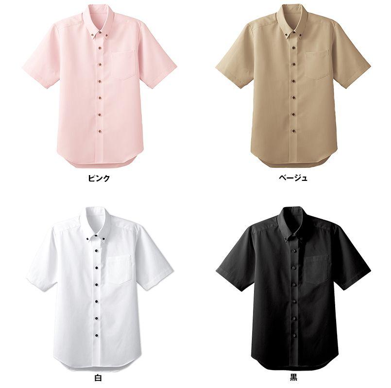 33308 BONUNI(ボストン商会) ボタンダウンシャツ/半袖(男女兼用) 色展開