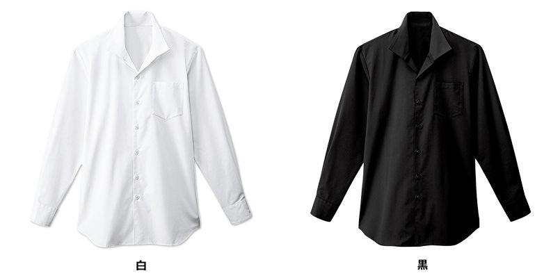 34108 BONUNI(ボストン商会) イタリアンカラーシャツ/長袖(男性用) 色展開