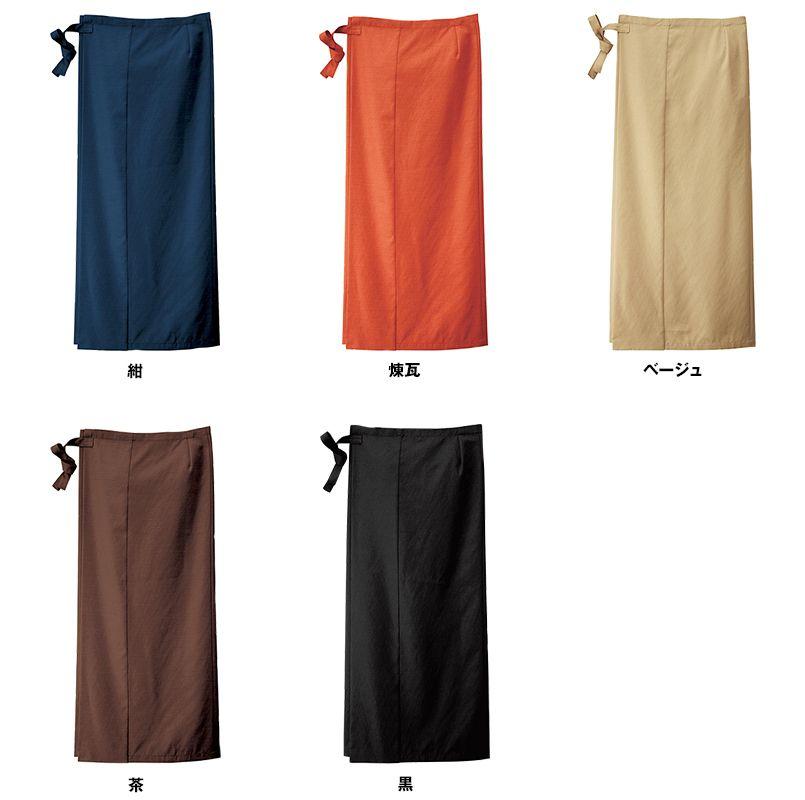 42202 BONUNI(ボストン商会) 和風スカート(女性用) 色展開