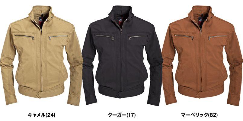 バートル 5301 T/C リップクロスメンズジャケット(男女兼用) 色展開