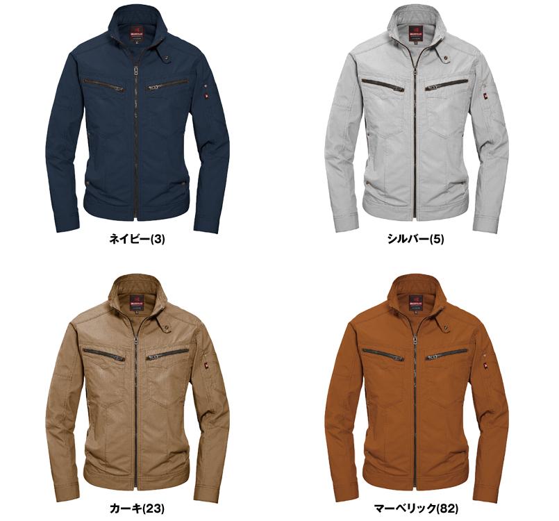 バートル 5511 [春夏用]綿100%リップクロスジャケット(男女兼用) 色展開