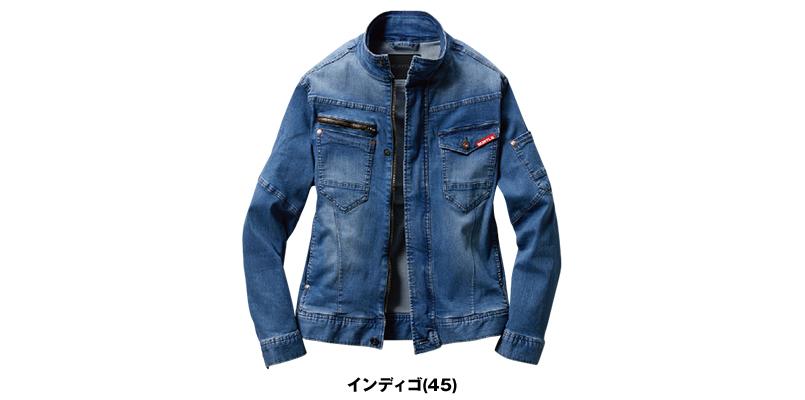 バートル 591D [春夏用]ストレッチ デニムジャケット 色展開