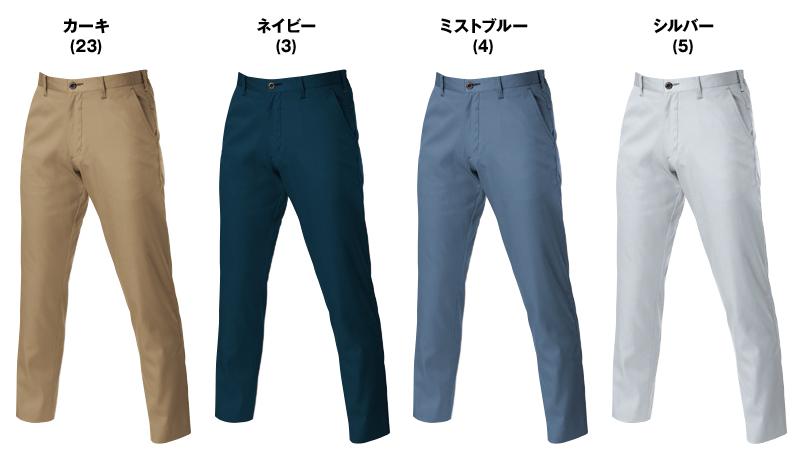 バートル 6107 [春夏用]制電T/Cライトチノシャーリングパンツ(男女兼用) 色展開