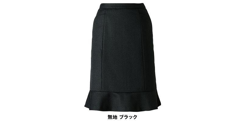 AR3451 アルファピア [秋冬用]セミタイトスカート 無地 色展開