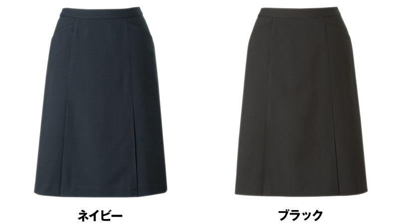 アルファピア AR3676 [春夏用]Aラインスカート [無地/ストレッチ/吸汗速乾] 色展開
