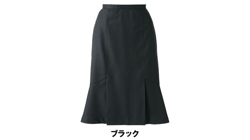 AR3815 アルファピア [秋冬用]デザインフレアースカート シャドーストライプ 色展開