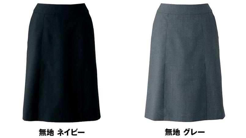 AR3824 アルファピア [秋冬用]Aラインスカート 無地 色展開