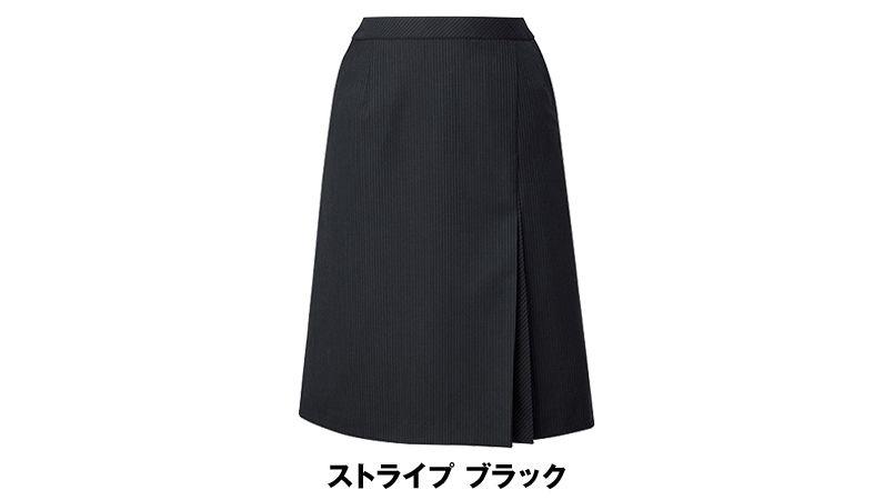 AR3852 アルファピア [通年]Aラインスカート ストライプ[防シワ商品] 色展開