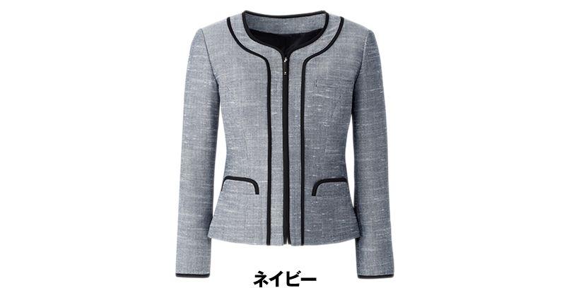 [在庫限り/返品交換不可]AR4678 アルファピア [春夏用]ジャケット リセアスラブツイード(防汚) 色展開