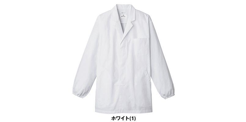 AB-6406 チトセ(アルベ) 白衣/長袖/襟あり(男性用) 色展開
