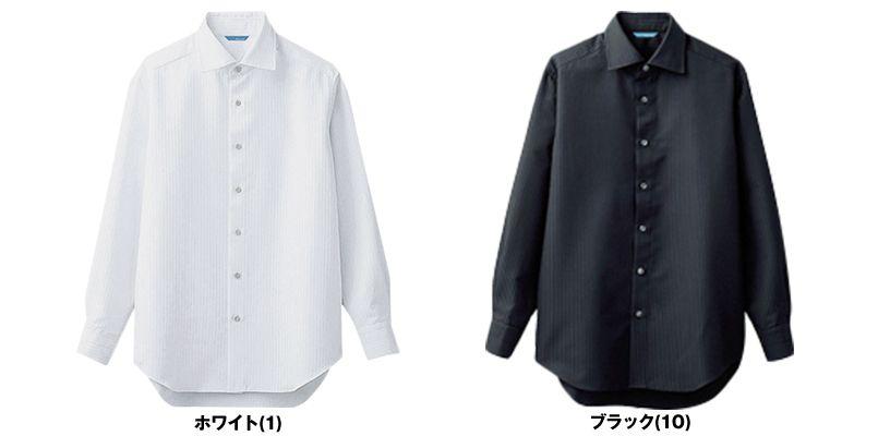 BC-6910 チトセ(アルベ) ワイドカラーのブランチシャツ(男性用) 色展開