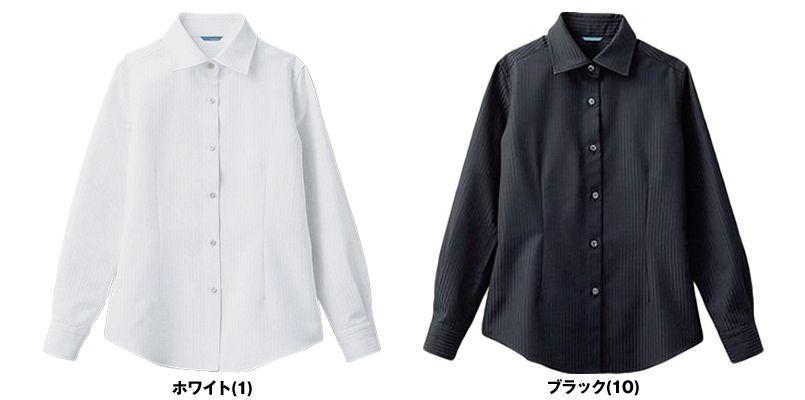 BC-6912 チトセ(アルベ) ワイドカラーのブランチシャツ(女性用) 色展開