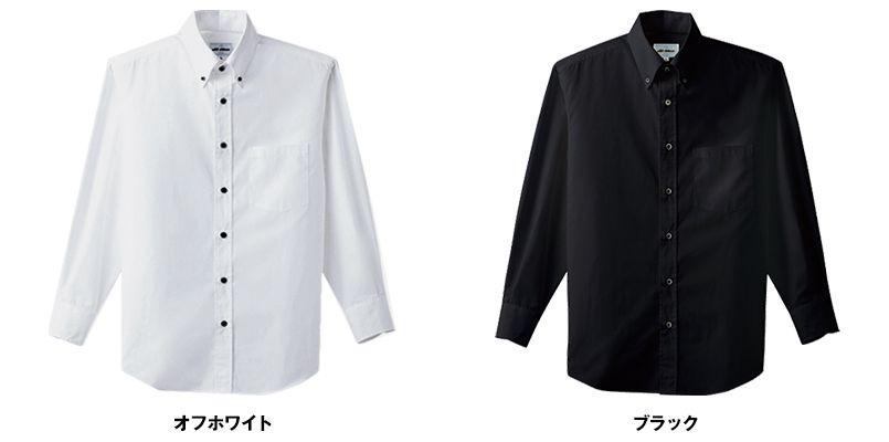 EP-7616 チトセ(アルベ) ボタンダウンシャツ/長袖(男女兼用) 色展開