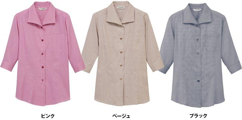 EP-7914 チトセ(アルベ) ブラウス/七分袖(女性用) 色展開