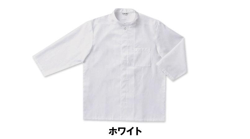 [在庫限り/返品交換不可]G-7741 チトセ(アルベ) 和風シャツ/七分袖(男女兼用) 色展開