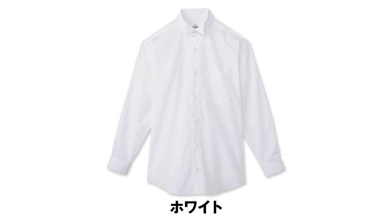 KM-4038 チトセ(アルベ) ウィングカラーシャツ/長袖(男性用) 色展開
