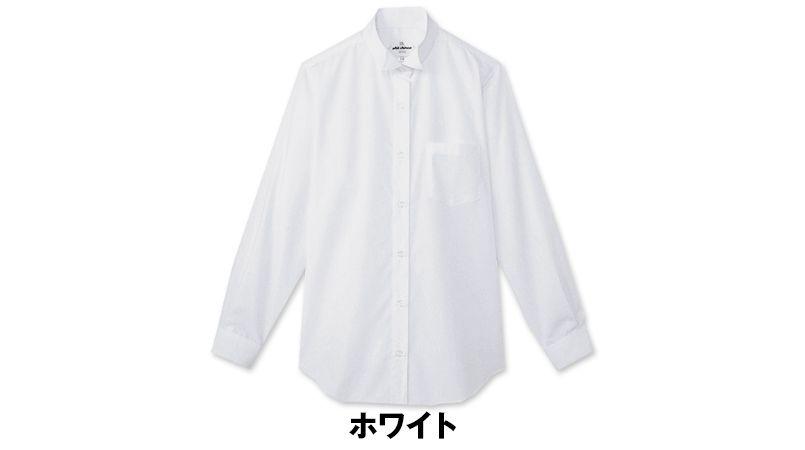 KM-4039 チトセ(アルベ) ウィングカラーシャツ/長袖(女性用) 色展開