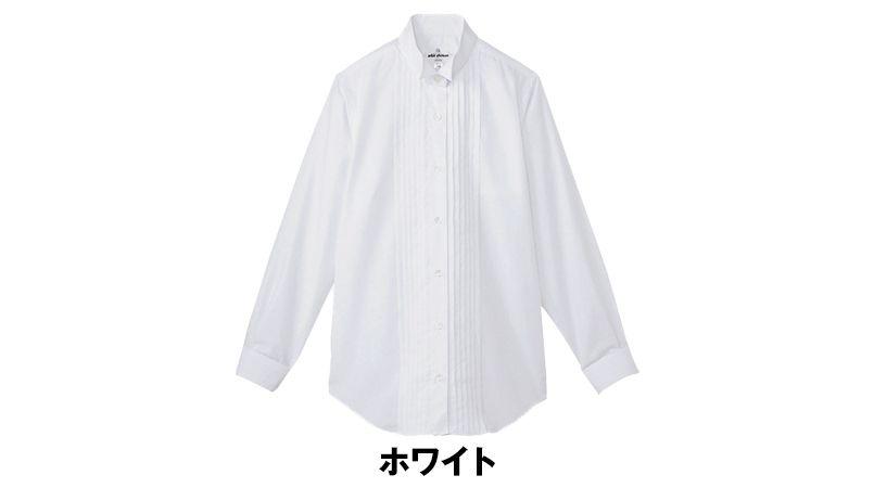 KM-4091 チトセ(アルベ) ピンタックウイングカラーシャツ(女性用) 色展開