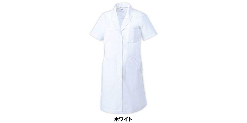 MZ-0221 ミズノ(mizuno) ドクターコート/半袖(女性用) 色展開