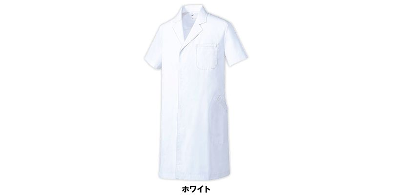 MZ-0222 ミズノ(mizuno) ドクターコート/半袖(男性用) 色展開