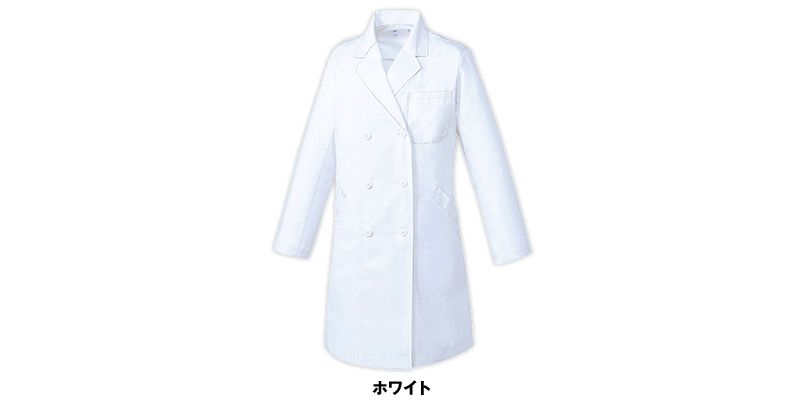 MZ-0223 ミズノ(mizuno) ドクターコート/長袖(女性用) 色展開