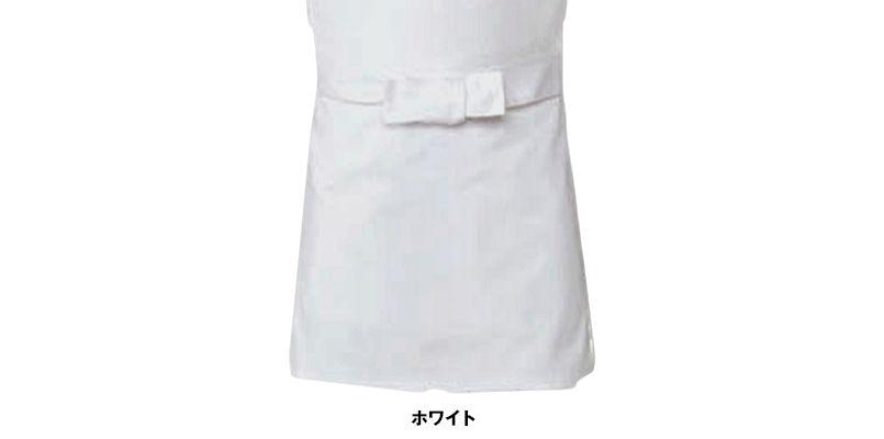 T-6103 チトセ(アルベ) 厨房刺子前掛けエプロン(男女兼用) 色展開