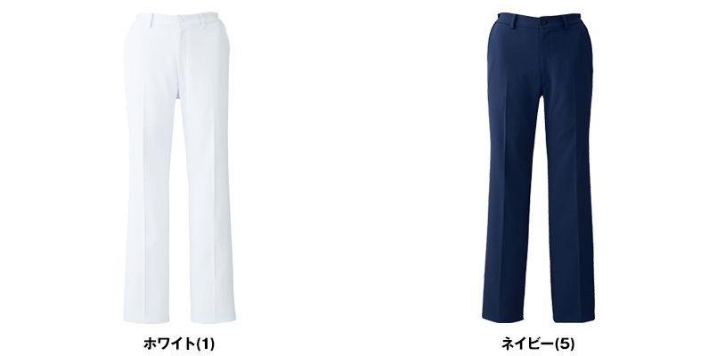 UN-0052 UNITE(ユナイト) ストレートタイプパンツ(女性用)ウエスト脇ゴム仕様 色展開