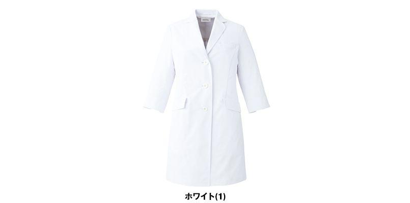 UN-0060 UNITE(ユナイト) 丸みのある襟元 ドクターコート・シングル(女性用) 色展開