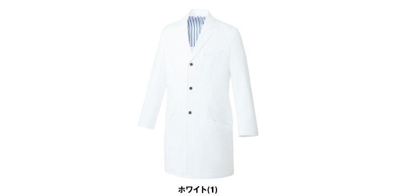 UN-0080 UNITE(ユナイト) 長袖ドクターコート(男性用) 色展開