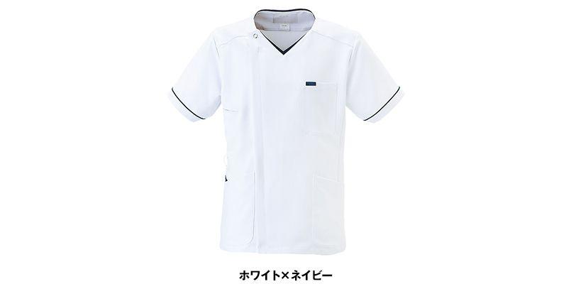 1016EW FOLK(フォーク) ZIP SCRUB メンズスクラブ(男性用) 色展開
